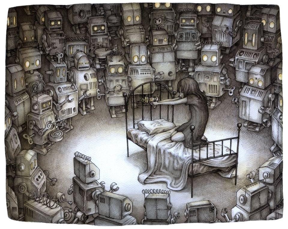 Adam Oehlers - к статье о кошмарах, страшных снах
