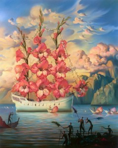 Arrival of the Flower Ship