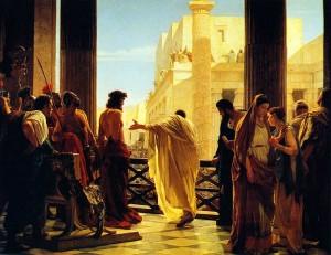 Антонио Чизерри: жена Пилата сообщает о том, что видела сон об Иисусе