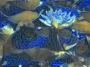 #DeepDream-Google какой сон видит робот о цветах2