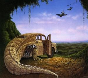 Сны рептилий